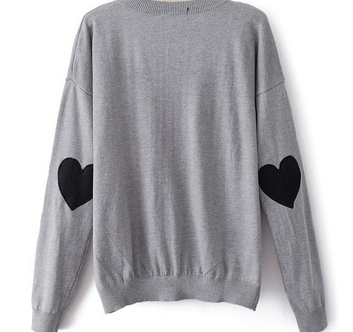 Cute heart hot design sweater