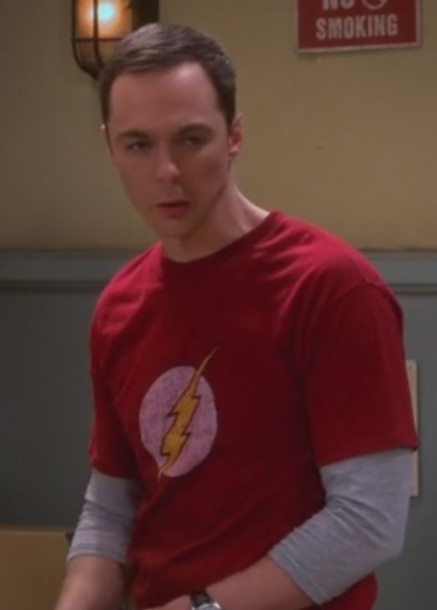 92ac92262 shirt flash logo jim parsons big bang theory sheldon cooper men t-shirts