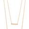 Jennifer zeuner jewelry cynthia necklace - gold