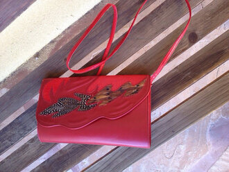 bag snake skin bag snake skin purse feather bag feather snakeskin purse feather handbag vintage bag vintage handbag vintage purses vintage purse feather purse