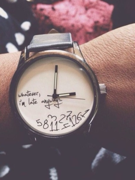 bag watch jewels clock number falling apart mess brown leather home accessory late number hand jewelry white fashion toast