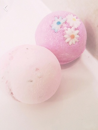 home accessory pastel pink bath bath bomb pink home decor girly wishlist body care