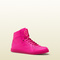Gucci - coda neon pink leather sneaker 323812dbl505616