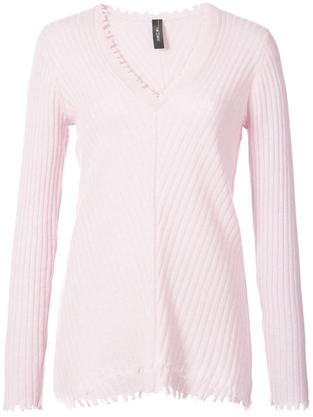 Marc Cain jumper women purple pink sweater