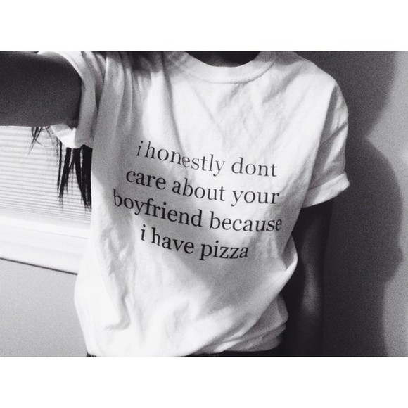 quote on it boyfriend pizza food relationship