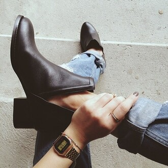 shoes black boots black boots boot heels heels leather boots