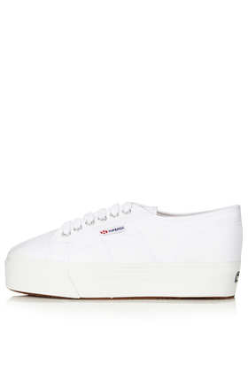 SUPERGA Canvas Sneakers - Flats  - Shoes  - Topshop