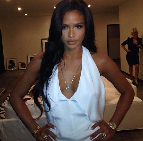 silk blouse halter top cassie ventura halter neck top white top