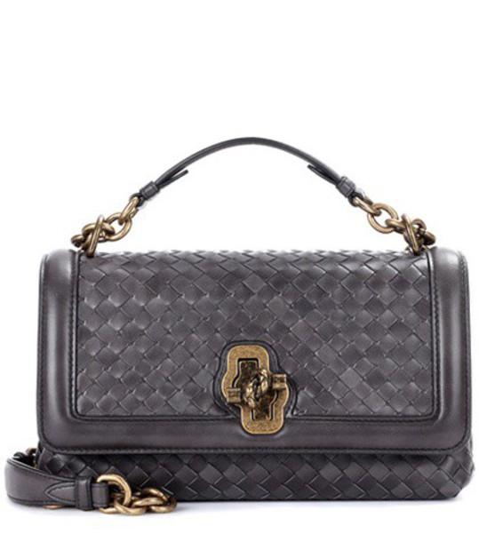Bottega Veneta bag shoulder bag leather grey