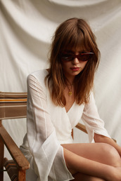 dress,finders keepers,white,white dress,mini dress,long sleeves,long sleeve dress,bnkr,summer outfits,romantic summer dress,fall dress,sheer