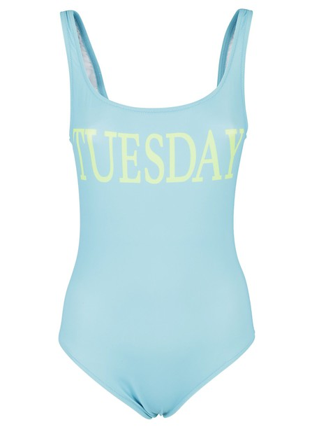 Alberta Ferretti blue swimwear