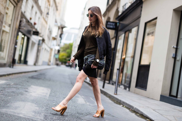 sarah co mode ton look blogger jacket skirt top bag jewels