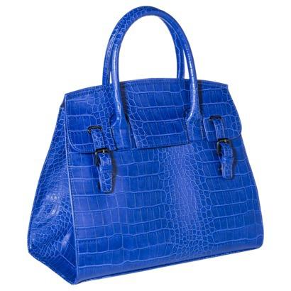Mossimo® Croc Satchel Handbag - Blue : Target