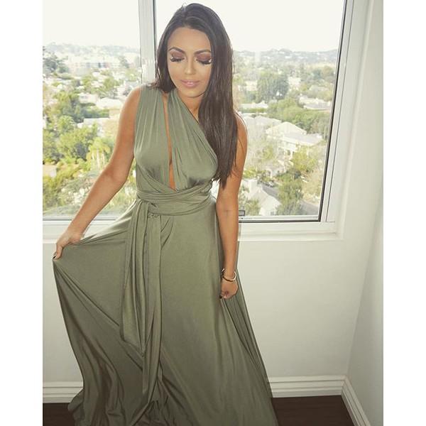c85cf0470f dress olive dress olive green olive maxi dress maxi dress prom dress gown  olive long dress