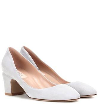 suede pumps tan pumps suede grey shoes