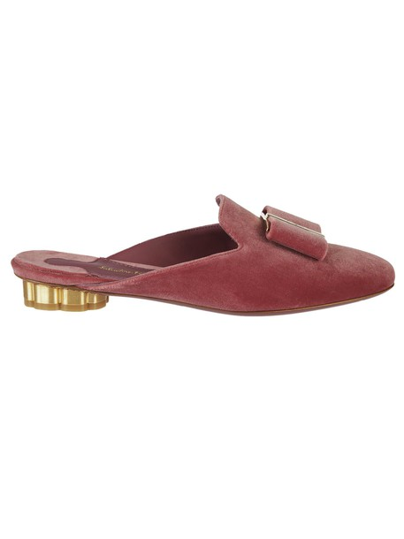 heel mules red shoes