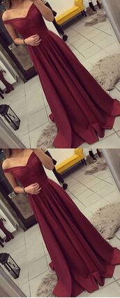 dress,fuchsia homecoming dresses,draped homecoming dresses,floor length homecoming dresses,a line homecoming dresses,off shoulder homecoming dresses,off the shoulder