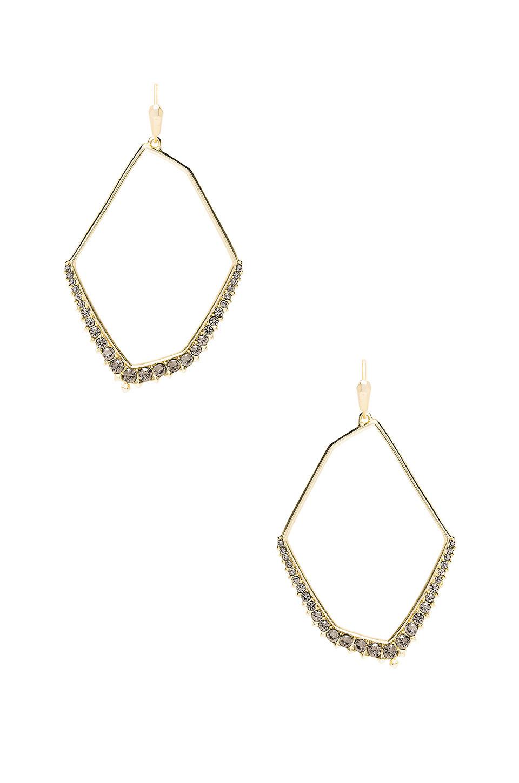 Kendra Scott Nell Earrings in gold / metallic
