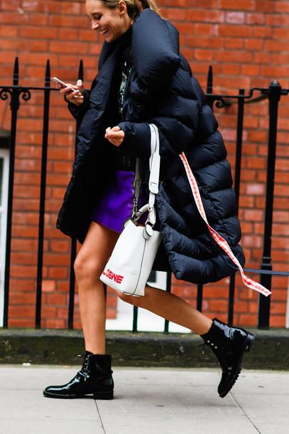 Resultado de imagem para street style fashion week puffer jacket
