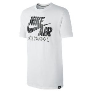 Nike Store Deutschland. Nike Basketball Air Force 1 Muster Herren-T-Shirt