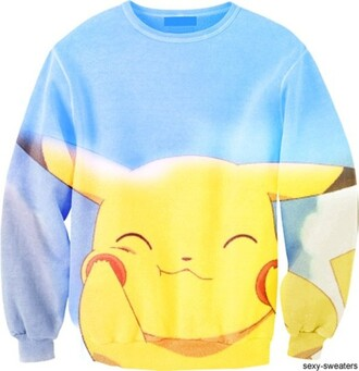 shirt pokemon clothes cute kawaii comfy pikachu happy