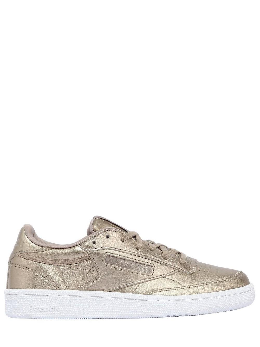 REEBOK CLASSICS Club C 85 Hype Metallic Leather Sneakers