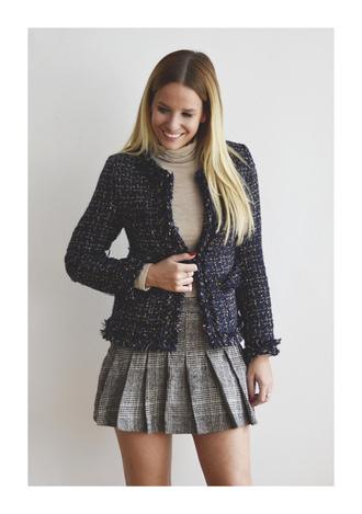 the sense blogger mini skirt plaid skirt