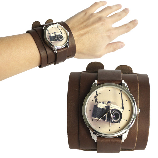 jewels brown watch watch camera ziz watch ziziztime
