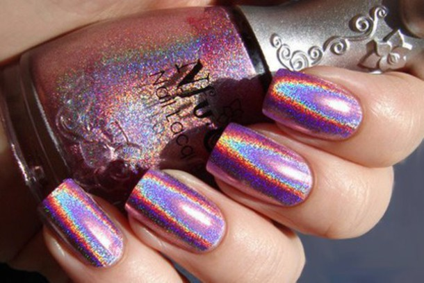 nail polish holographic
