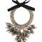 Night market chunky necklace, women's, grey