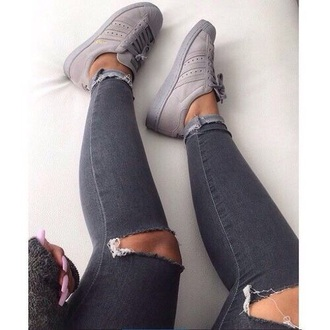 shoes grey sneakers grey shoes