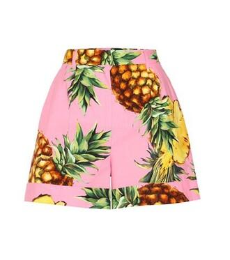 shorts cotton pink