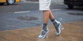 shoes,transparent boots,transparent shoes,transparent,open toes,peep toe boots,socks,boots,clear,clear boots