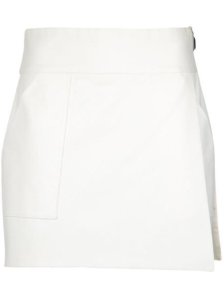 Giuliana Romanno skirt women white cotton