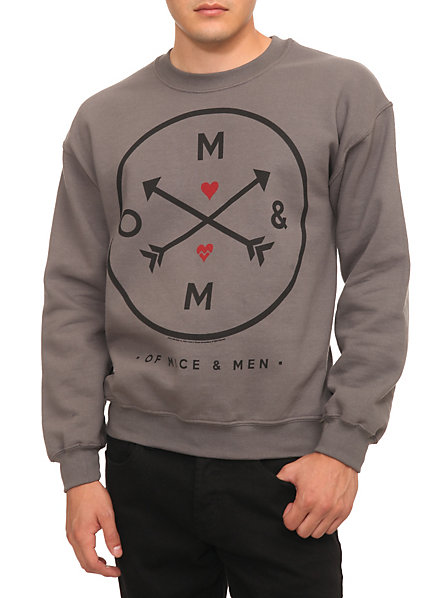 Of Mice & Men Arrows Crewneck Sweatshirt | Hot Topic
