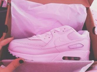 shoes nike air max nike air pink pastel nike air max 90 pastel nike air force lavender rose nike shoes nike air max 90 pink sneakers low top sneakers