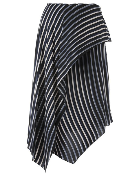 Diane Von Furstenberg skirt silk black