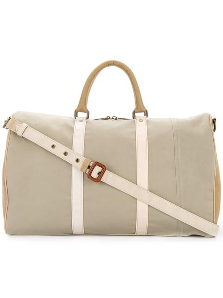 Waccowacco duffle bag women classic bag nude cotton