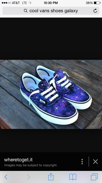 shoes galaxy vans shoes