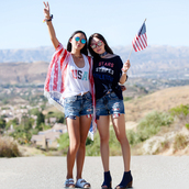 fit fab fun mom,blogger,tank top,shorts,jewels,sunglasses,t-shirt,shoes,american flag,july 4th,usa,summer outfits,denim shorts