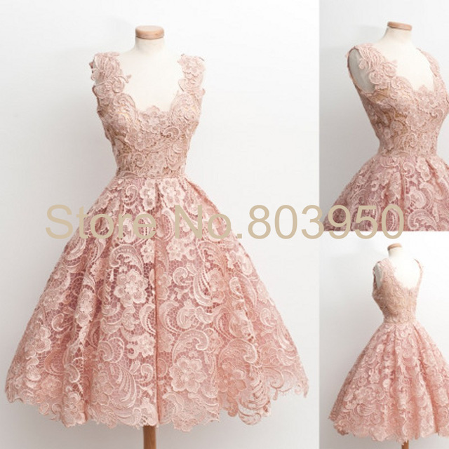 Aliexpress.com : Buy Homecoming Dresses Size 16 V_neck ...