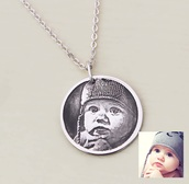 jewels,photo necklace,keepsake jewelry,sterling silver 925