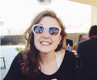 sunglasses glasses pale pink pink sunglasses