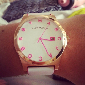 jewels marc jacobs gold pink watch classy marc by marc jacobs pink dress gold watch