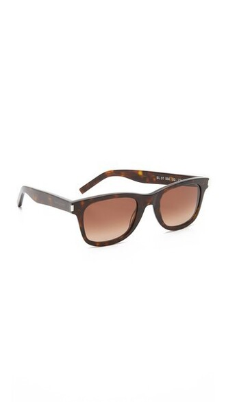 dark sunglasses brown