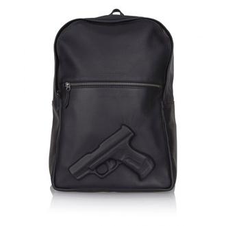 bag gun black backpack leather backpack unisex 3d rucksack