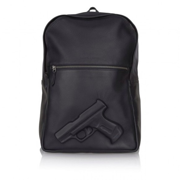 bag gun 3d rucksack black backpack