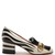 Marmont fringed zebra-appliqué leather loafers
