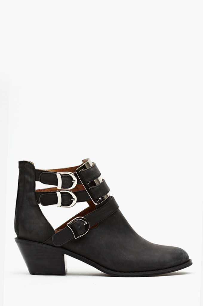 Jeffrey Campbell Boyfriend Ankle Boot in  Shoes at Nasty Gal