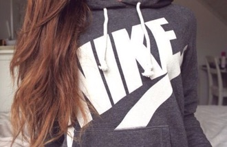 sweater grey white nike fashion tumblr sportswear hoodie nike hoodie nike hoodie white nike logo nike sweater grey sweater white sweater nike hoodie grey